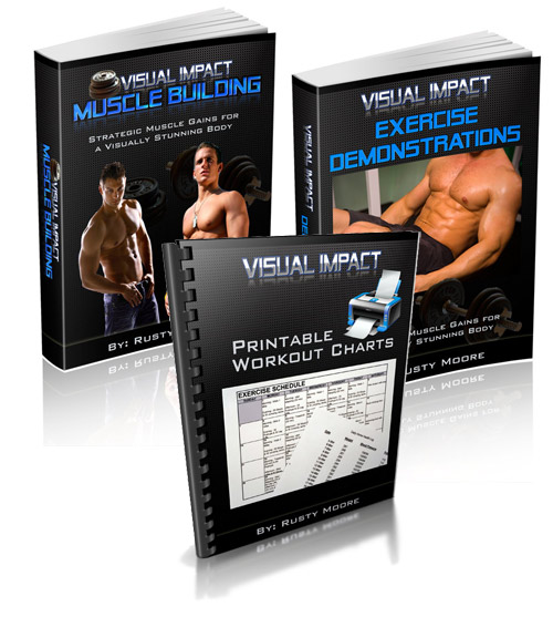 Visual Impact - A Visual Impact Muscle Building Workout For The Lean Hollywood Look! - Instant Download For Only $47